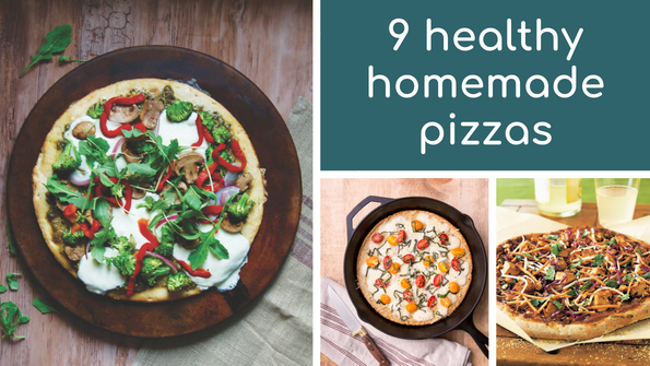 9 healthy homemade pizzas