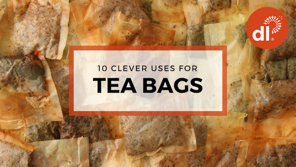 10 clever uses for tea bags