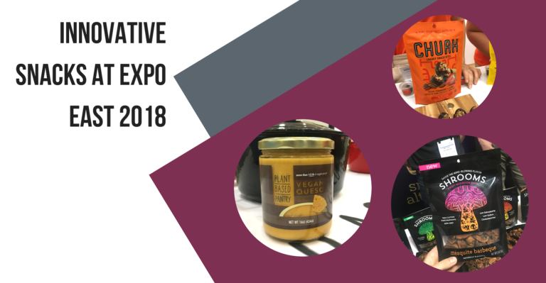 13 natural snacks spotted at Expo East 2018
