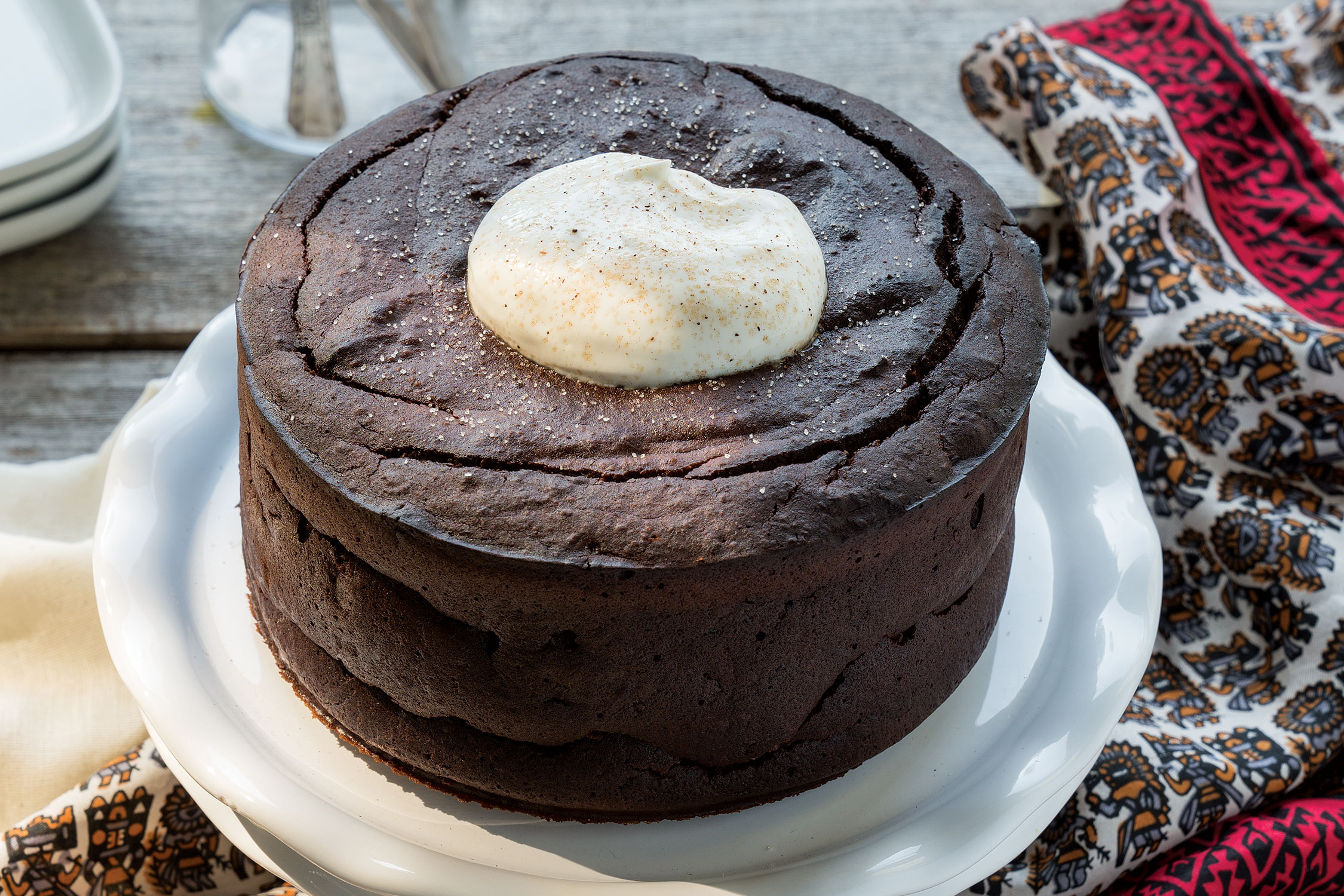 Flourless Hazelnut Chocolate Cake
