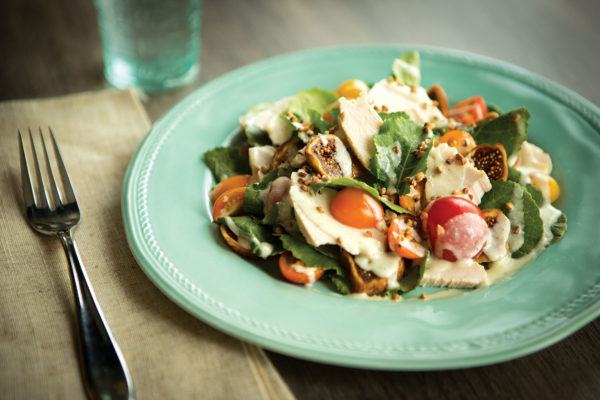 Turkey and Cheese Salad