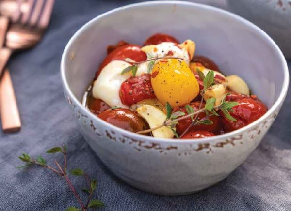 Roasted Olive Oil Tomatoes