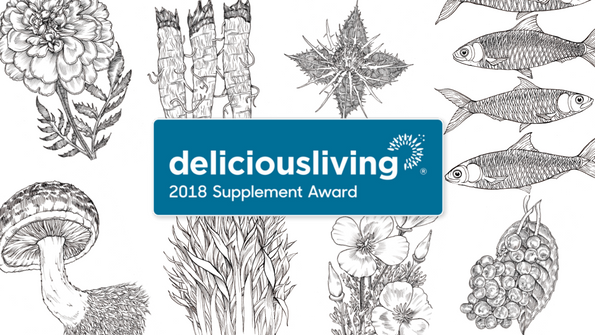 Delicious Living's 2018 Supplement Awards