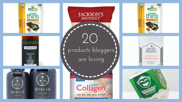 20 product picks from veteran bloggers