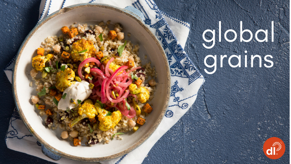 Global grains: 5 plant-based recipes from around the world
