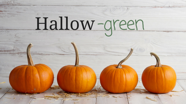 8 ways to make your Halloween more green