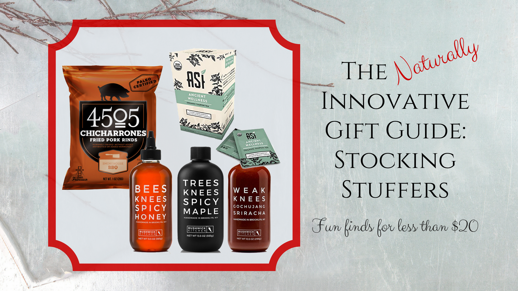 The Naturally Innovative Gift Guide: Stocking Stuffers