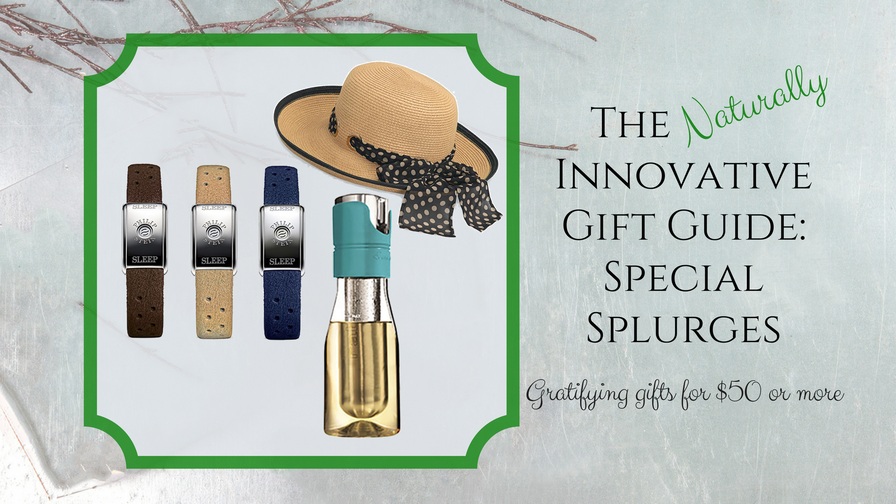 The Naturally Innovative Gift Guide: Special Splurges