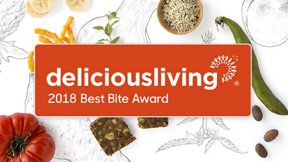 Delicious Living's 2018 Best Bite Awards