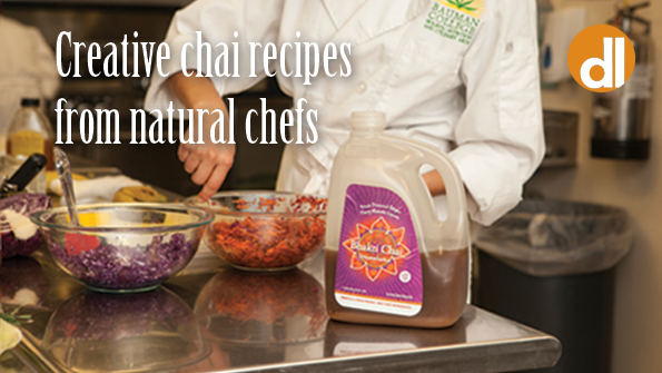 Creative chai recipes from natural chefs
