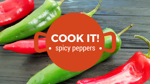 Cook it! Spicy peppers