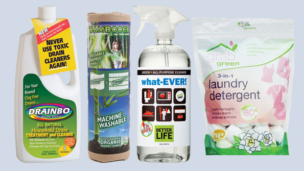 4 green cleaning product reviews