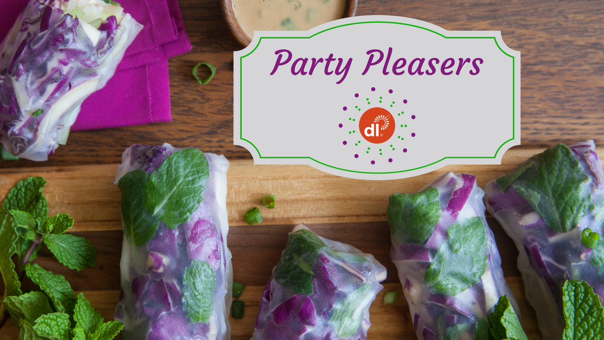 Party pleasers: Healthy appetizers for any gathering