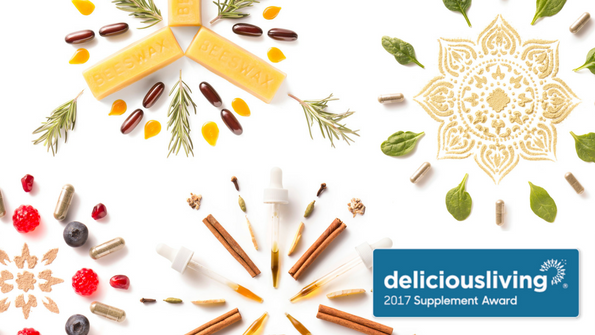 Delicious Living's 2017 Supplement Awards
