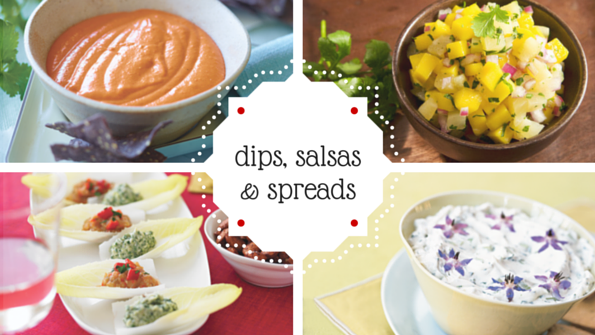 13 dips, spreads and salsas for healthier snacking
