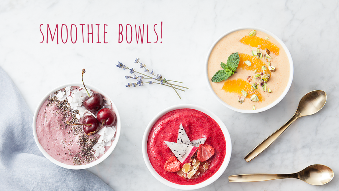 6 condition-specific smoothie bowls