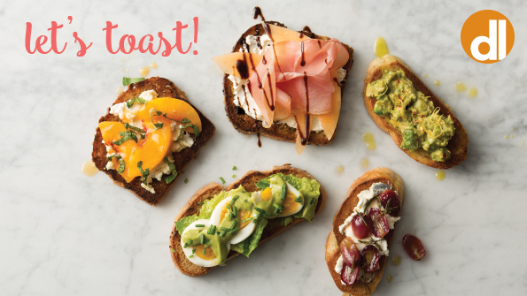 5 party-worthy toast toppers