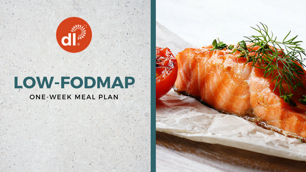 One-week low-FODMAP meal plan