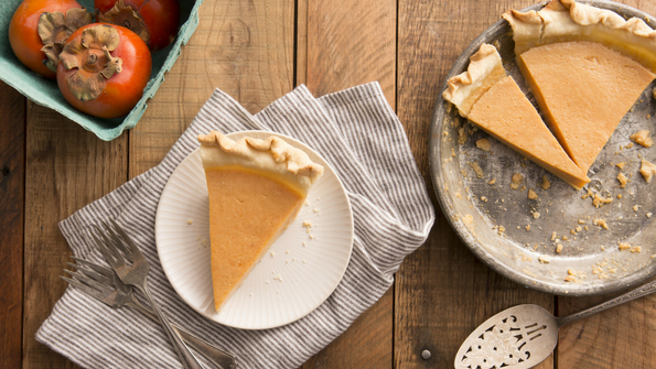 Persimmon Pie Recipe