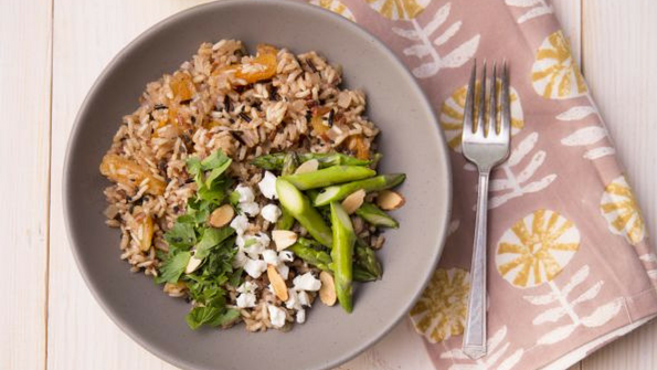 One-Pan Apricot Rice Pilaf